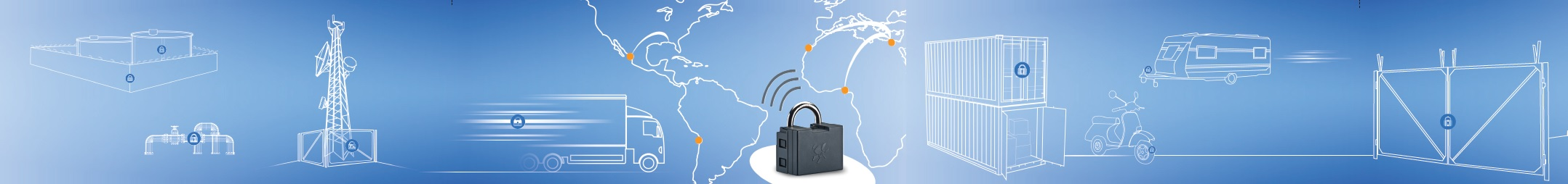 gps padlock electronic alarm system