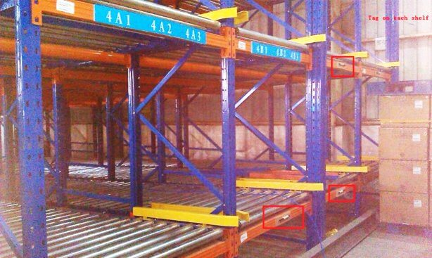 RFID Forklift Rack Management